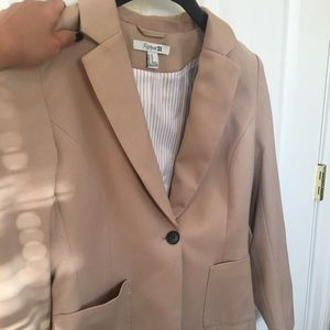 Forever 21 Tan Blazers